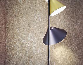 3D model Funnel Floor Lamp
