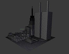 A City View 3D model