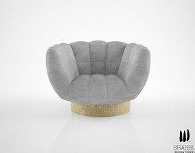 3D model Brabbu Essex armchair