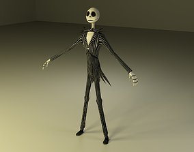 3D asset Jack Skellington from Nightmare Before Christmas