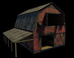 Weathered Barn with PBR 3D