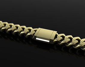 3D print model chain Cuban Link Chain