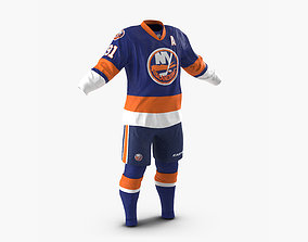 3D model Hockey Clothes Islanders