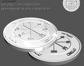 3rd Seal of Mercury 3D printable model