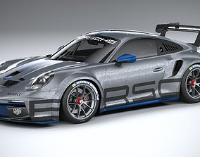 3D model Porsche 911 GT3 Cup 2021