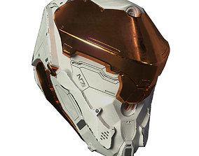 Si-Fi Helmet 3D design