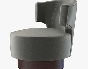 3D Holly Hunt MESA OCCASIONAL CHAIR