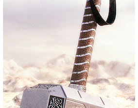 3D Hammer of Thor