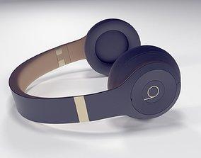 Apple Beats Studio3 Wireless OverEar Headphones 3D model