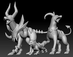 3D print model Pokemon Houndour Houndoom Mega Evolution