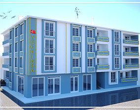 Exterior Design The Modeling Apartment low-poly