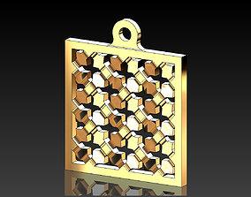 3D print model Moucharabieh pendants