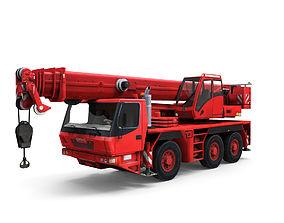 3D model Mobile auto crane