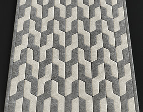 The rug company cable neutral large 3D model