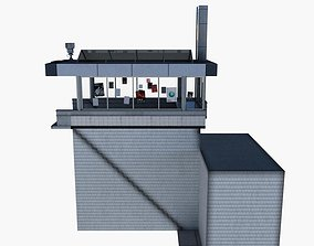 Subway Station Entrance 3D model