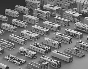 Hard Surface Framing Assets Volume 1 3D