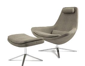 Metropolitan Armchair by BB Italia 3D model