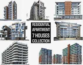 3D model Residential Buildings Collection