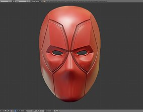 Deadpool Faceshell and Emotional Eyes 3D printable model