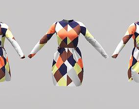Female Clothing 01 3D model