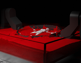 WestWorld Drone Host with blender 3D printable model