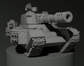 Tank miniature 3D print model