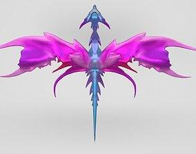 Butterfly Fairy Dragon Model 3D asset realtime
