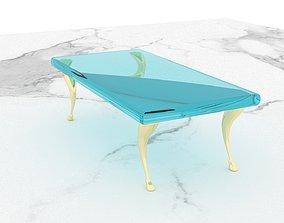 3D The transparent table parlour