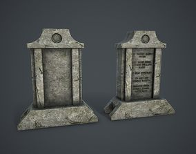 3D model Old Tombstone