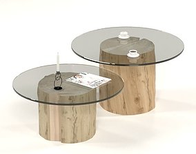 3D model Coffee table collection interior