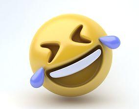 3D asset EMOJI laughing