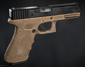 Glock 17 - Game Ready 3D asset game-ready