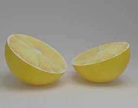 3D model VR / AR ready Lemon