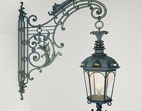 3D model Wrought iron Wall Lamp