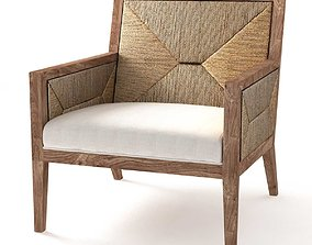 3D model Restoration Hardware Milos Chair