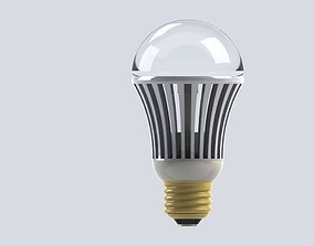 LED lightbulb E27 3D