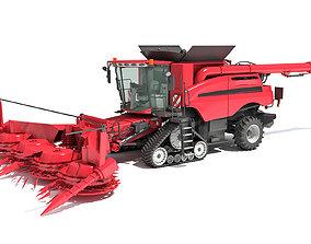 3D model Forage Harvester 2020