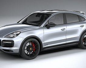 3D Porsche Cayenne GTS Coupe 2020