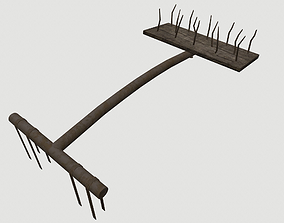 Spiked trap 3D asset