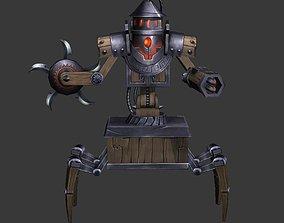 mechanism 3D model game-ready Robot