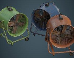 3D model Industrial Fan 1B