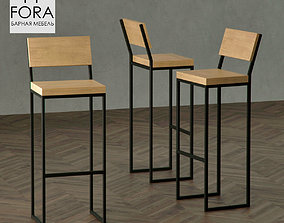 3D Fora Furniture Model F