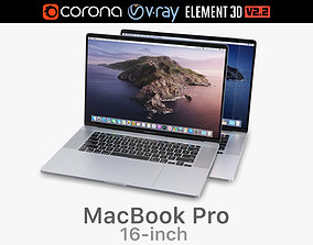 Apple MacBook Pro 16-inch 2019 3D model