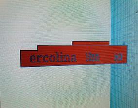3D print model and hercolina mini bender matrix