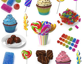 Candy Collection 3D model
