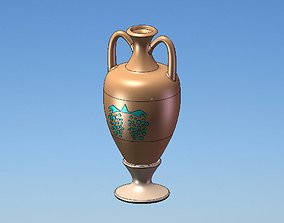Amphora for table standing 3D model
