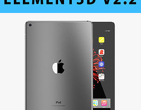 E3D - Apple iPad 97 Inch 2017 Wi-fi Space Grey