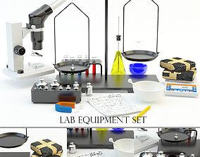 3D model Laboratory equipment