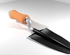 Garden Tool - Handtrowel 3D model