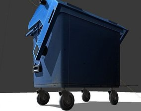 Garbage Container 3D various
